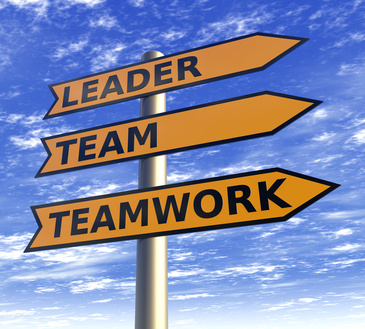 Leader and teamwork